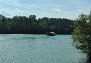Floßfahrt auf der Drau